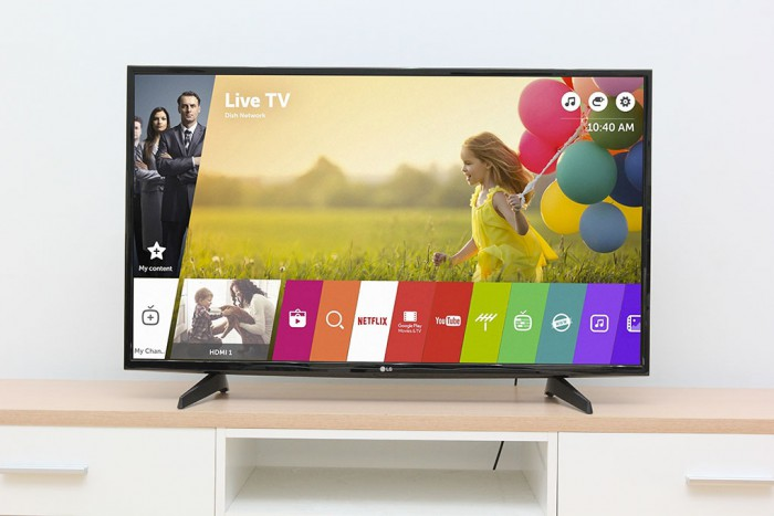 Smart Tivi LG 43 Inch 4K 43UH610T, Ultra HD 4K, 100Hz